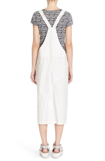 Julien David short dress White Overall Salopette on Tradesy