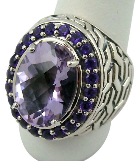 Preload https://img-static.tradesy.com/item/21296874/purple-482ct-lilac-amethyst-sterling-oval-ring-0-3-540-540.jpg