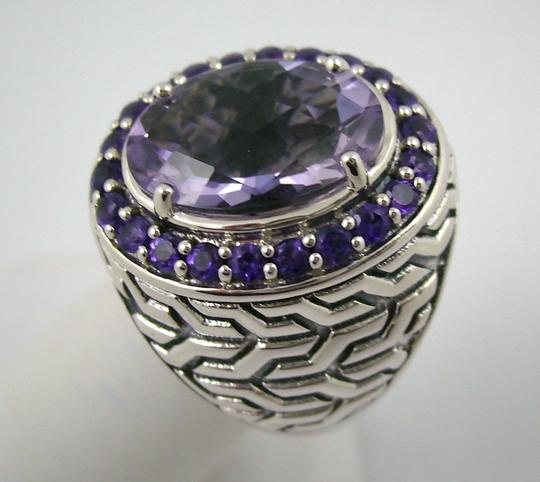 Hilary Joy Hilary Joy 4.82ct Lilac Amethyst Sterling Oval Ring