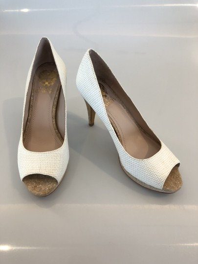 Vince Camuto White Pumps