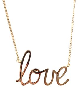 BCBGeneration love charm necklace