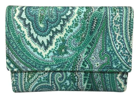 Preload https://img-static.tradesy.com/item/21297032/etro-green-paisley-pvcleather-trifold-wallet-0-1-540-540.jpg