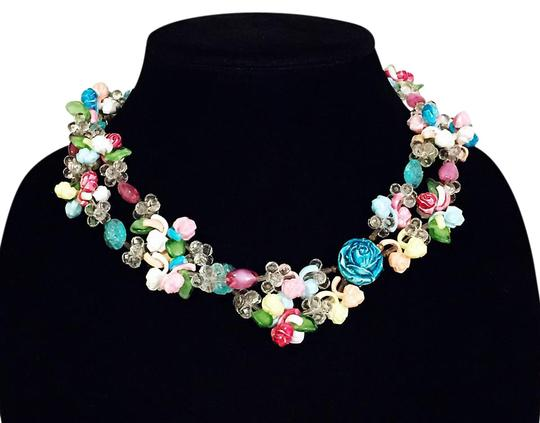 Preload https://img-static.tradesy.com/item/21297064/vintage-pastel-glass-and-lucite-floral-motif-handmade-in-western-germany-necklace-0-1-540-540.jpg