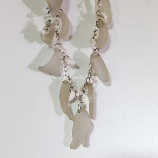 Other incredible handmade sea glass charm dangle shard silver necklace ocean theme