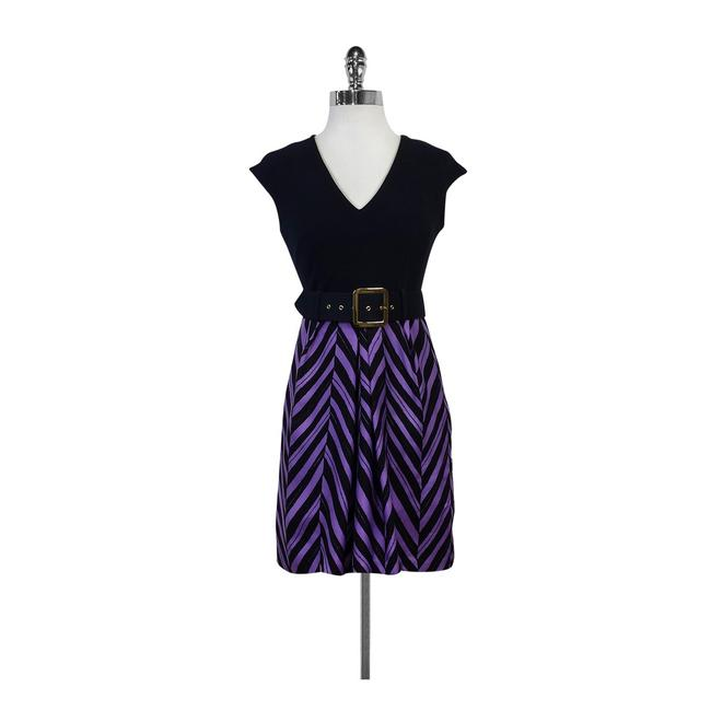 Preload https://img-static.tradesy.com/item/21297088/milly-navy-and-chevron-and-purple-short-casual-dress-size-2-xs-0-0-650-650.jpg