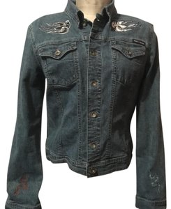 DKNY denim Womens Jean Jacket