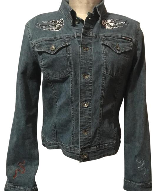 Preload https://img-static.tradesy.com/item/21297091/dkny-embroidery-not-denim-jacket-size-16-xl-plus-0x-0-1-650-650.jpg