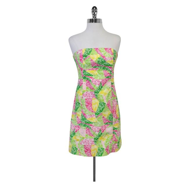 Preload https://img-static.tradesy.com/item/21297174/lilly-pulitzer-multicolor-patchwork-tie-back-strapless-short-casual-dress-size-6-s-0-0-650-650.jpg
