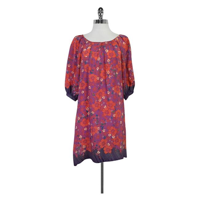 Preload https://img-static.tradesy.com/item/21297236/multicolor-color-floral-print-shift-short-casual-dress-size-6-s-0-0-650-650.jpg