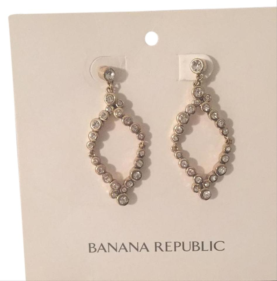 Banana Republic Gold Costume Earrings