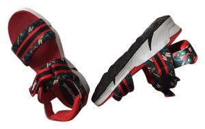 Desigual Red and black multi Sandals