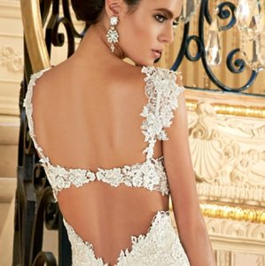 KittyChen Couture Kitty Chen Gown Removable Lace Atraps