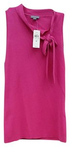 Ann Taylor Silk Top pink