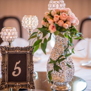 Sparkling Crystal Centerpieces