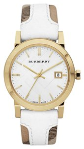 Burberry 100% NEW IN THE BOX BURBERRY BU9110 LADYS PLAID CHECKED WATCH