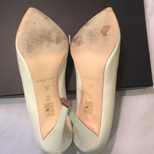 Marciano White with metallic detail Pumps