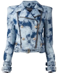 Balmain Womens Jean Jacket
