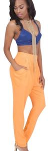 Lilly's Kloset Skinny Pants Orange