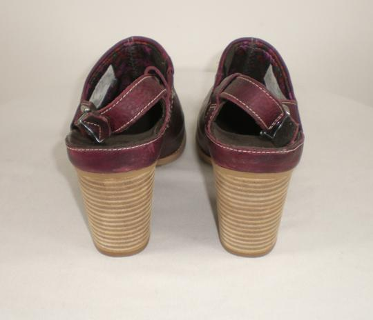 Timberland Earthkeepers Anti Fatigue Slingback Maroon Red Mules