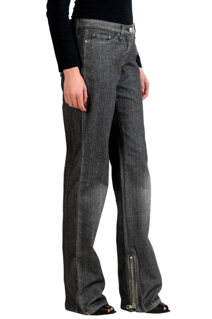 Gianfranco Ferre Straight Pants Gray