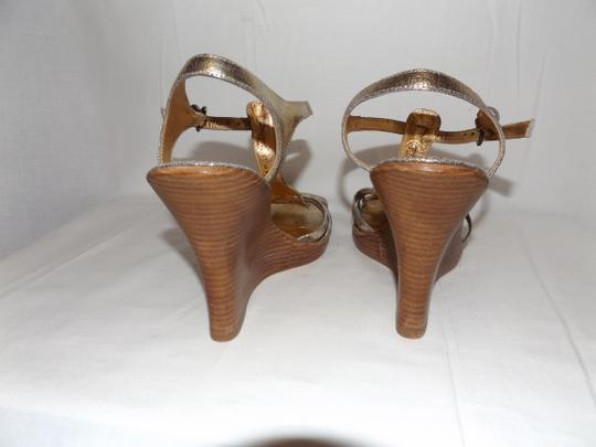 Imagine by Vince Camuto Gold Wedges