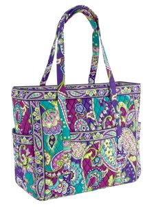 Vera Bradley Travel Cotton Tote in HEATHER