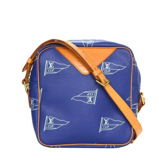 Preload https://img-static.tradesy.com/item/21298025/louis-vuitton-lv-america-s-cup-limited-edition-no-0518-blue-coated-canvas-cross-body-bag-0-3-540-540.jpg