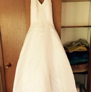 David's Bridal Beautiful Corset Fit Wedding Gown Wedding Dress