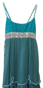 Free People short dress turquoise on Tradesy
