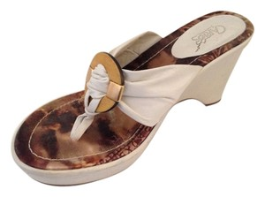 Carlos by Carlos Santana Leather Mojito White Sandals