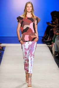 Isabel Marant Patchwork Camo Pink Sweater