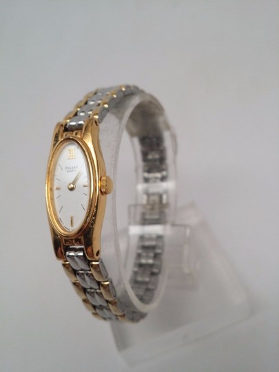 Pulsar Q uartz Ladies Gold and Silver Watch NEEDS NEW BATTERY OR REPAIR Image 1