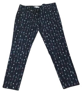New York & Company Straight Pants floral