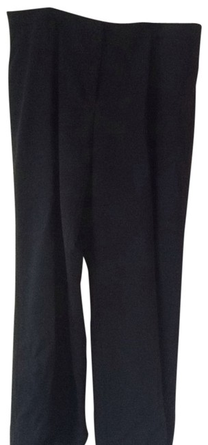 Dana Buchman Wide Leg Pants Black