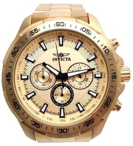 Invicta 22783 Men's Speedway Chronograph 18K Gp Ss Gold-Tone Dial Watch