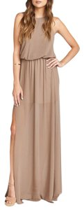Dune Maxi Dress by Show Me Your Mumu Maxi Halter