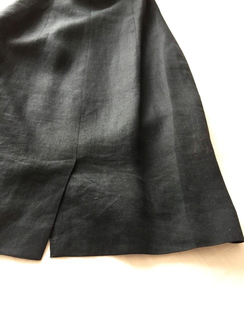 Giorgio Armani short dress black Made In Italy Matching Belt Coiled Strap Detail Excellent Vintage on Tradesy