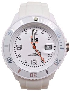 Ice Watc h Men's SI.WE.BB.S.11 Large White Silicone Quartz Watch Clasp is Broke