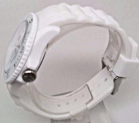 Ice Watc h Men's SI.WE.BB.S.11 Large White Silicone Quartz Watch Clasp is Broke Image 1