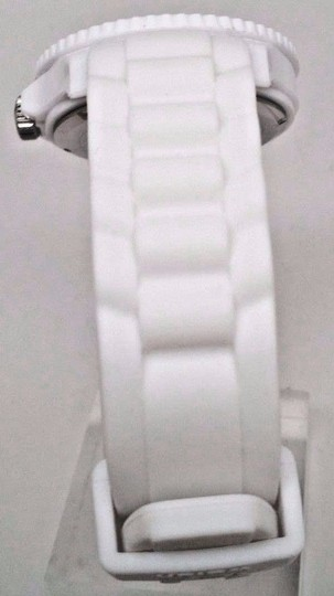 Ice Watc h Men's SI.WE.BB.S.11 Large White Silicone Quartz Watch Clasp is Broke Image 2