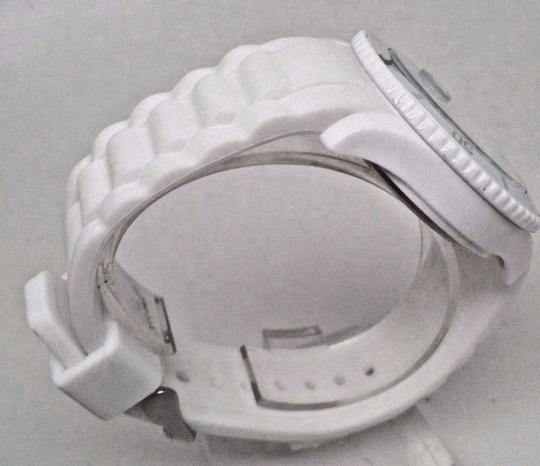 Ice Watc h Men's SI.WE.BB.S.11 Large White Silicone Quartz Watch Clasp is Broke Image 3