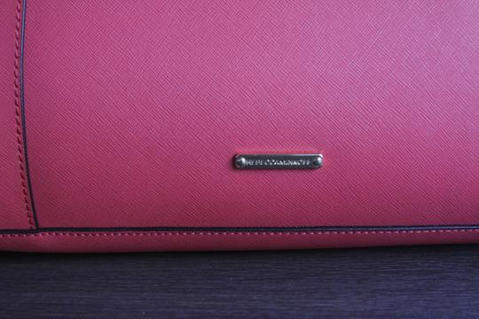 Rebecca Minkoff Mab Morning After Orange Leather Tote in Coral Image 7