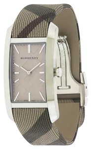 Burberry NWT WOMENS BURBERRY (BU9404) PIONEER HERITAGE BROWN LEATHER WATCH