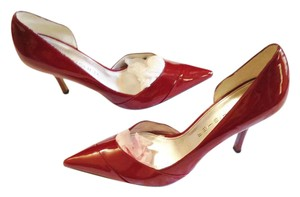 Marc Fisher Stiletto D'orsay Classic red Pumps