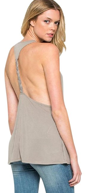 Preload https://img-static.tradesy.com/item/21299424/cocoa-twisted-braid-relaxed-tank-topcami-size-os-one-size-0-2-650-650.jpg