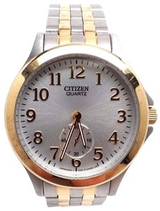 Citizen EQ9054-56A Women's Two-Tone Quartz Watch BROKEN!!!