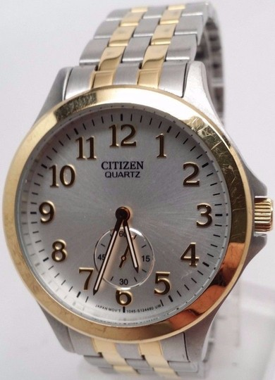 Citizen EQ9054-56A Women's Two-Tone Quartz Watch BROKEN!!! Image 1