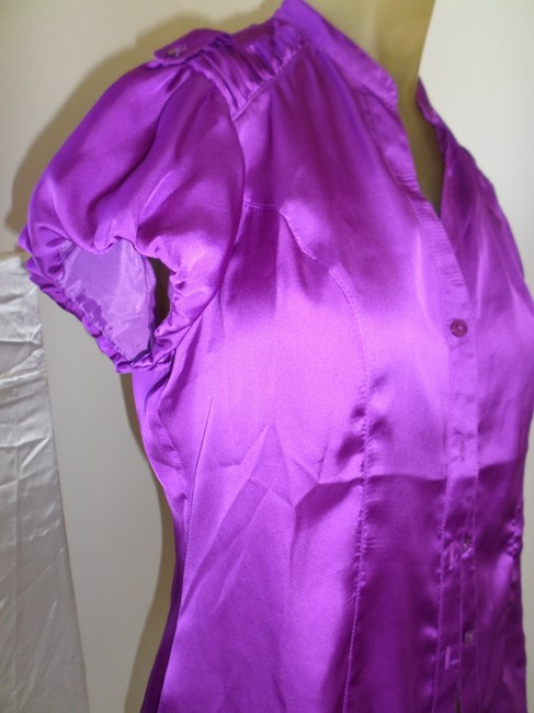 Harvé Benard Top plum Image 2