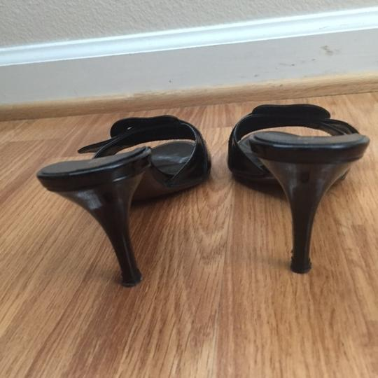 Fendi Patent Leather BLACK Mules