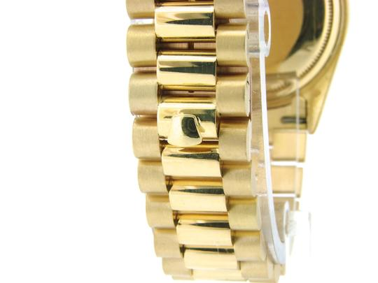 Rolex Mens Rolex 18K Gold Day-Date President Champagne Roman 18038 Image 6